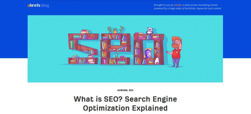 Ahrefs | What is SEO?
